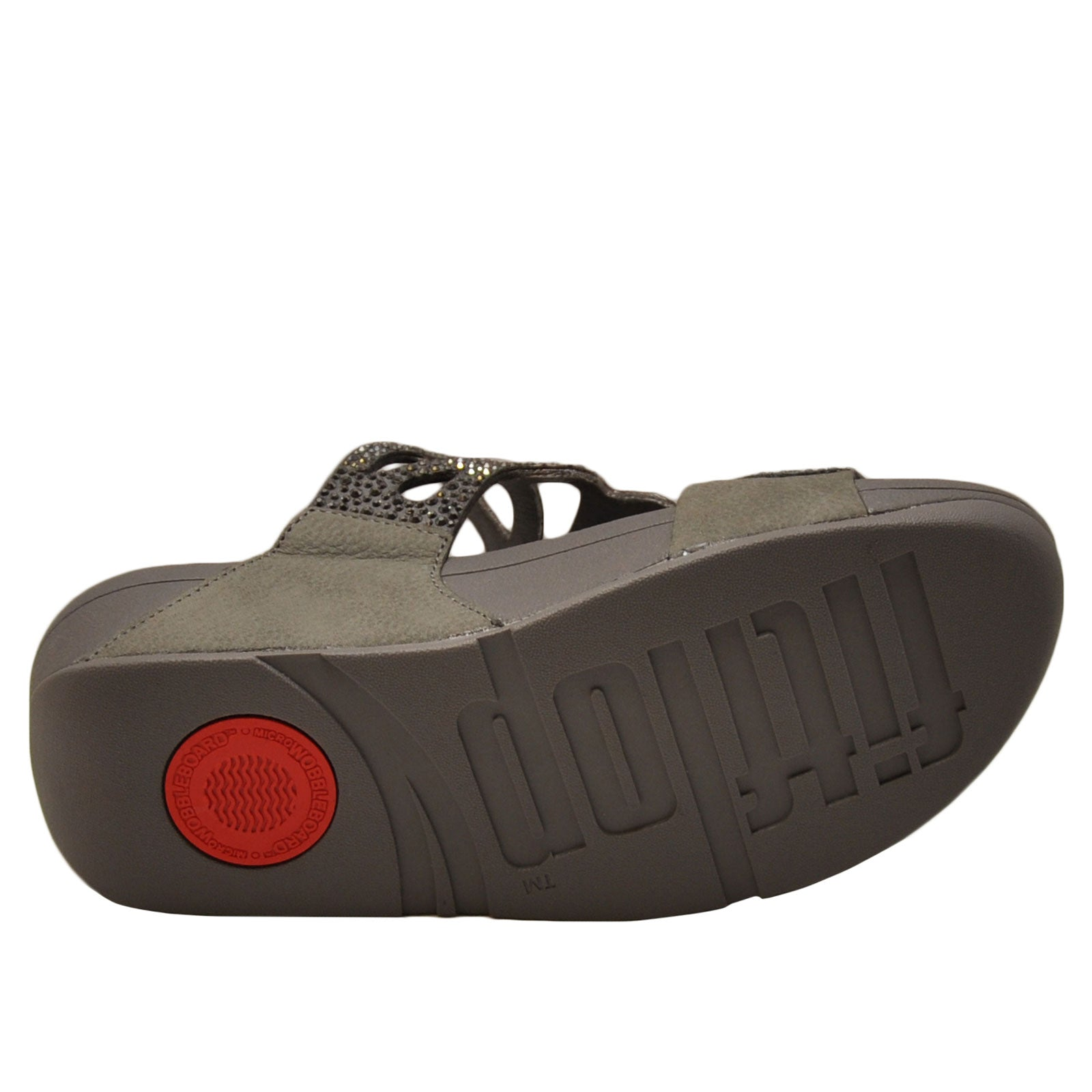 ef255c0d75be Fitflop Bumble Crystal Slide-Pewter. NEXT. PREV. Zoom+