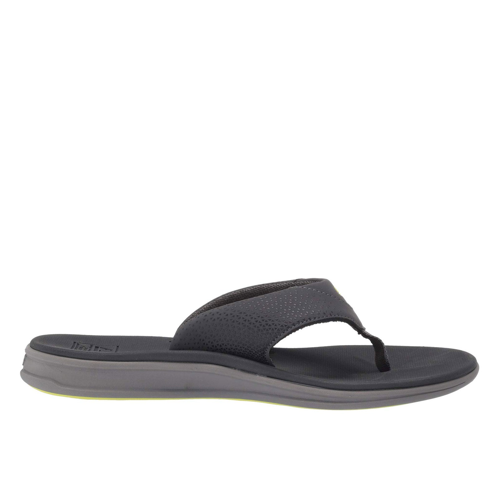Reef Rover Casual Flip Flop-Grey/Lime