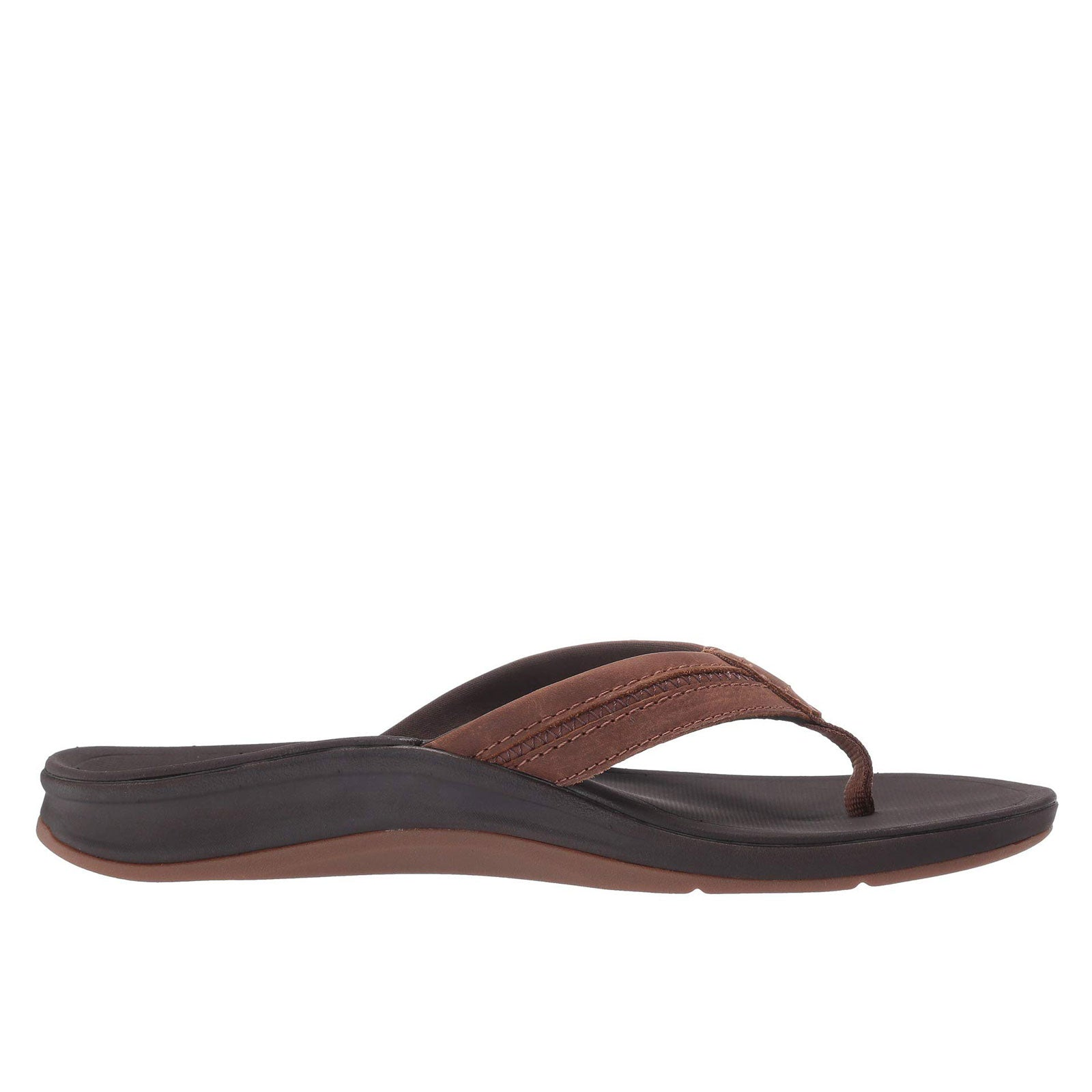Reef Leather Ortho-Bounce Coast-Brown