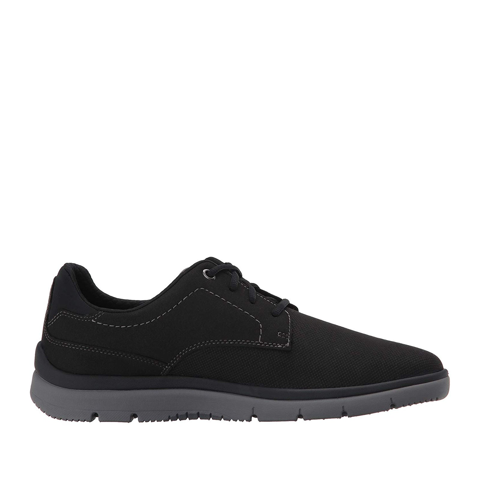 Clarks Tunsil Plain Oxford-Black