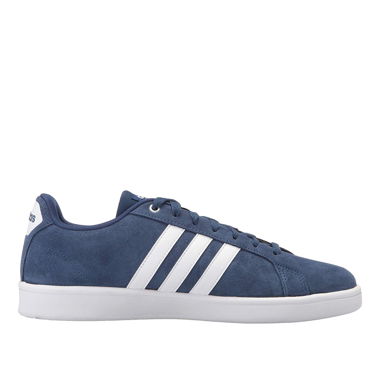 Adidas Cf Advantage-(Blue/White/Matte Silver)