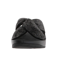 Fitflop Twiss Crystal Slide R44-001 (Black)