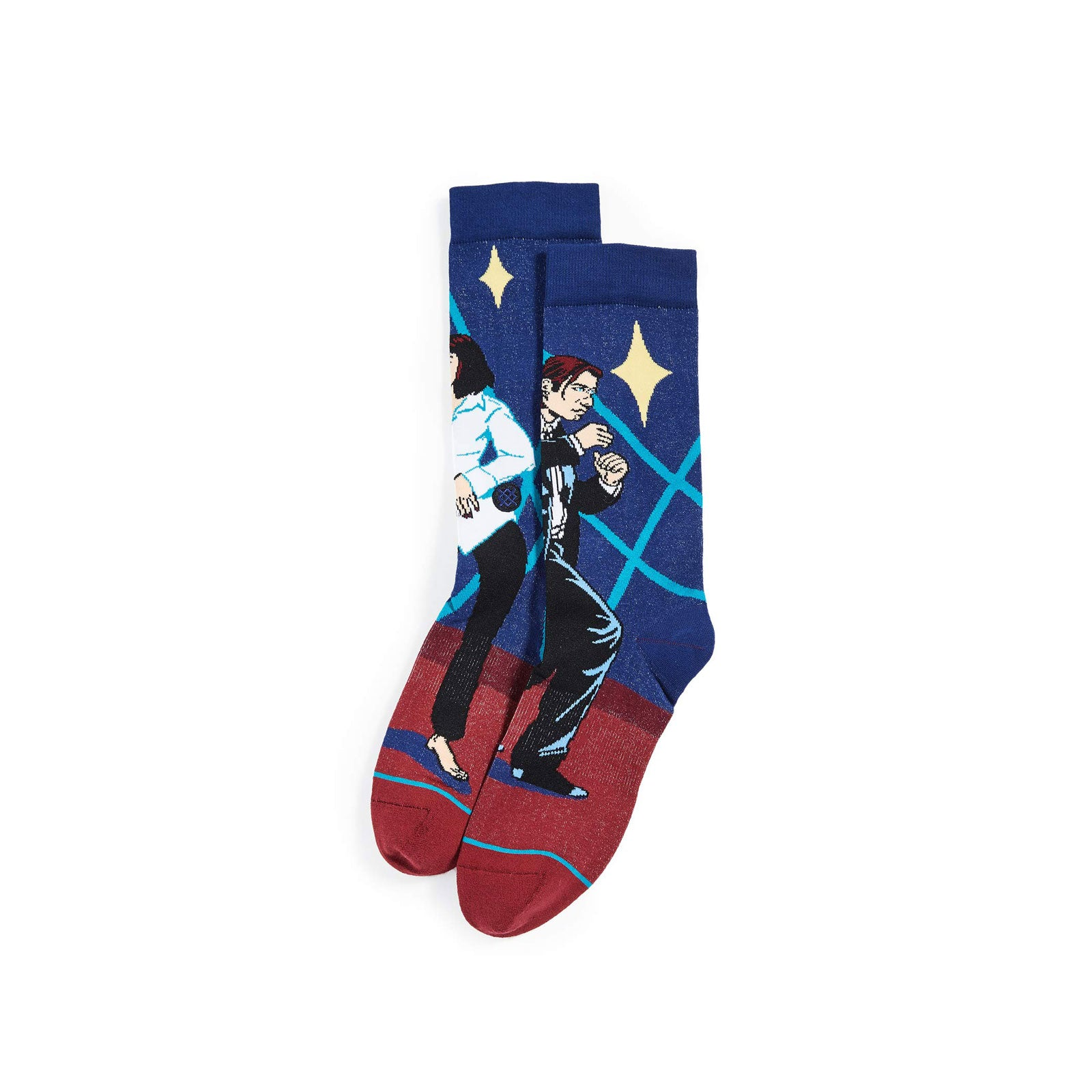 Stance Socks I Want to Dance-Red