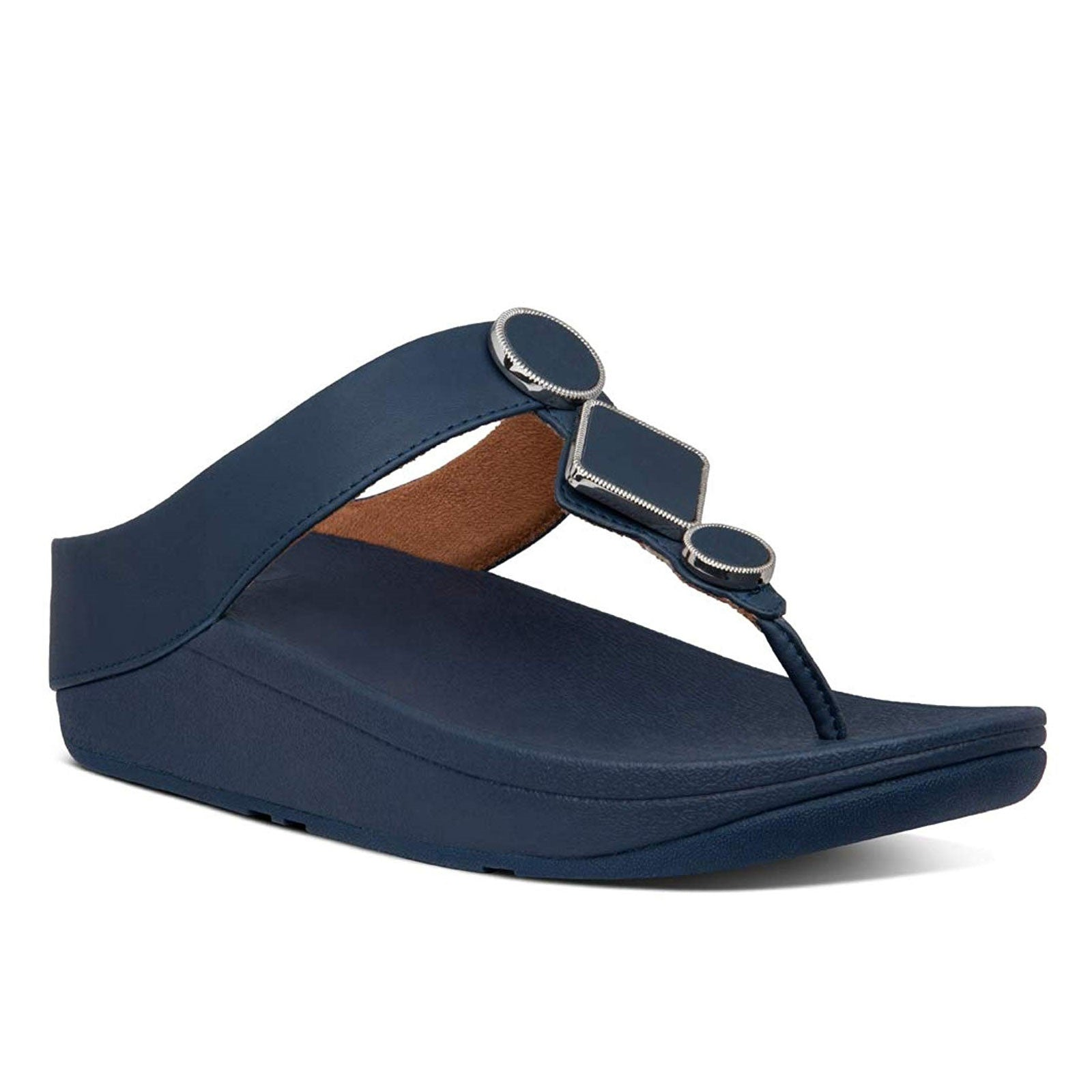 FitFlop Leia Toe-Thong BE4-399 (Midnight Navy)