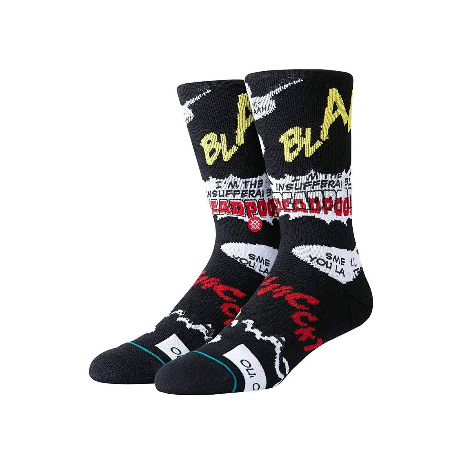 Stance Deadpool Blam-Black