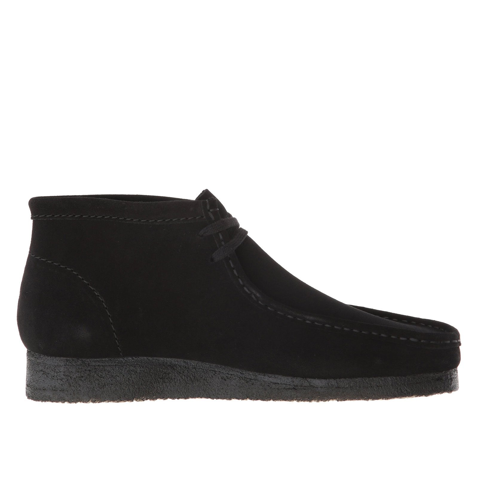 Clarks Wallabee Boot 33281-(Black Suede)