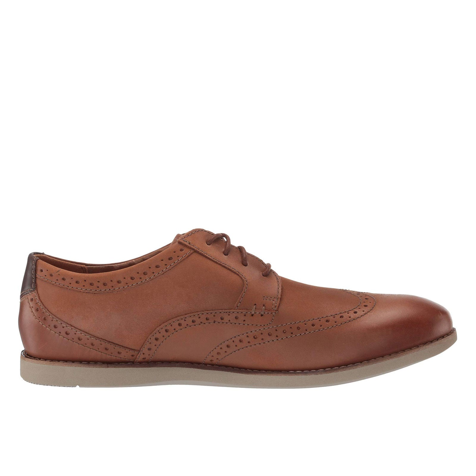 Clarks Raharto Wing 33180 (Dark Tan)