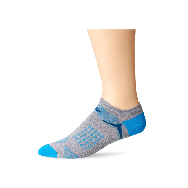 New Balance Technical Elite Socks-Grey/Blue