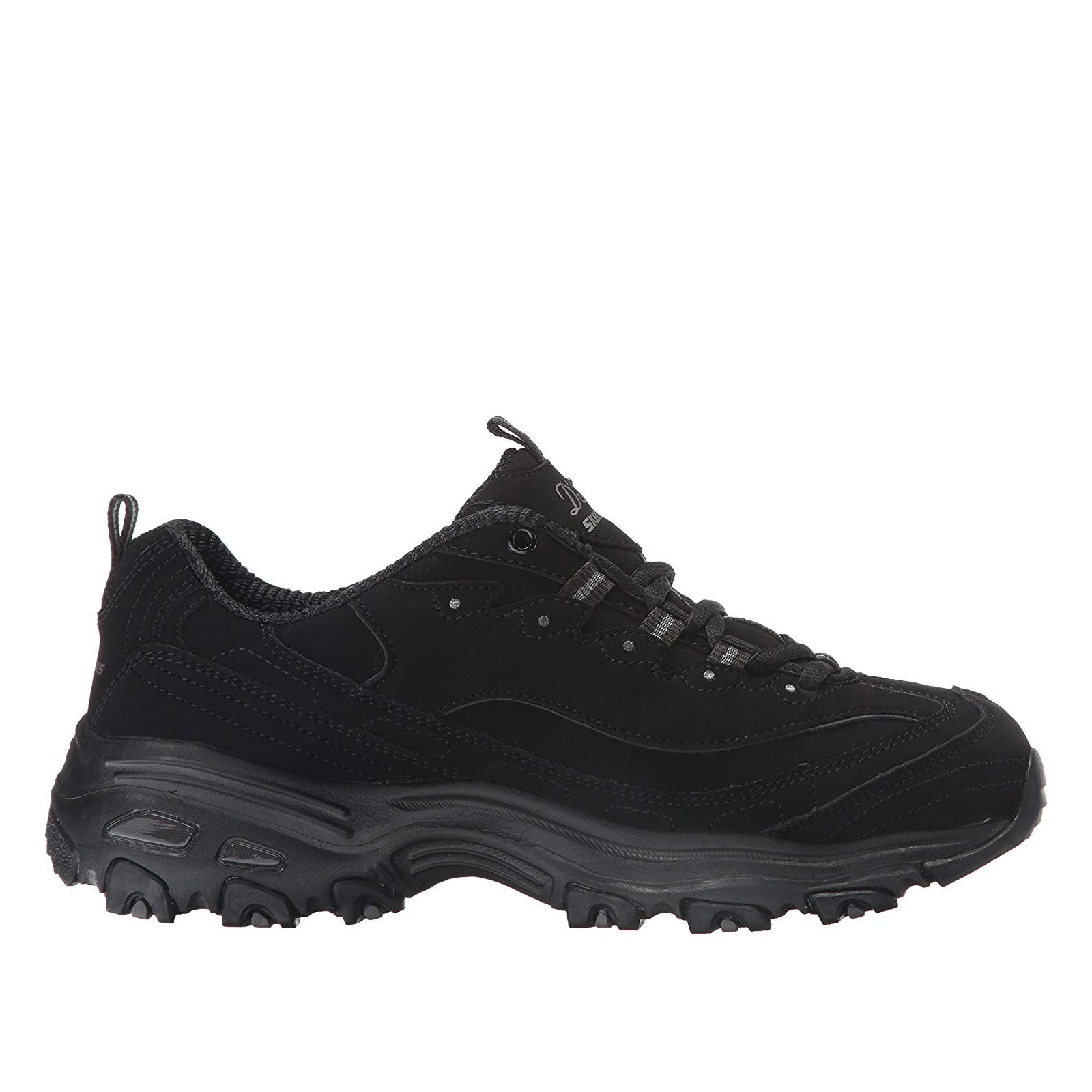 Skechers D'Lites Play On-Black/Black