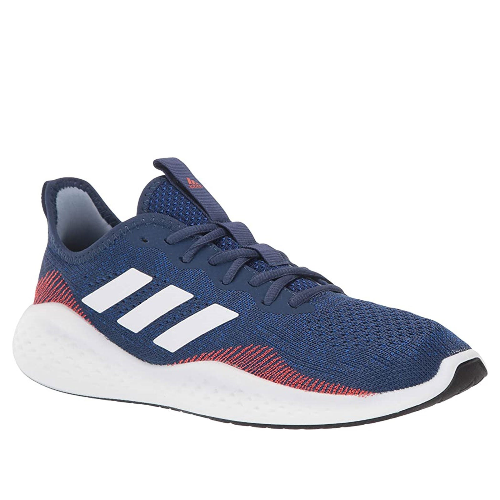 Adidas Fluidflow FW5079 (Tech Indigo / Cloud White / Semi Solar Red)
