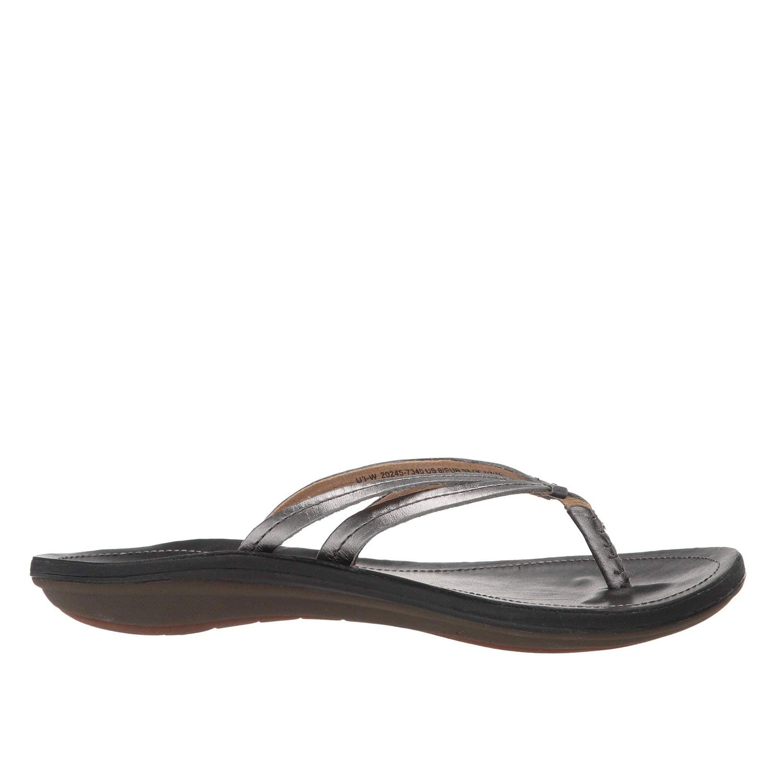 Olukai U'i 20245-7340 (Pewter / Black)