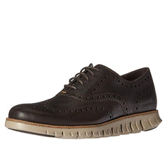 Cole Haan Zerogrand Wingtip C25273 (Java Leather-Cobblestone)