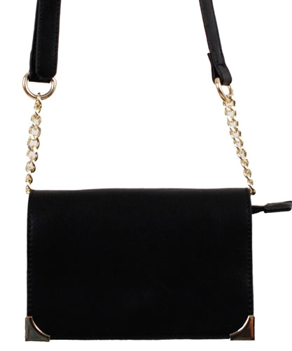 Tuya Vegan Satchel Bag's-Black