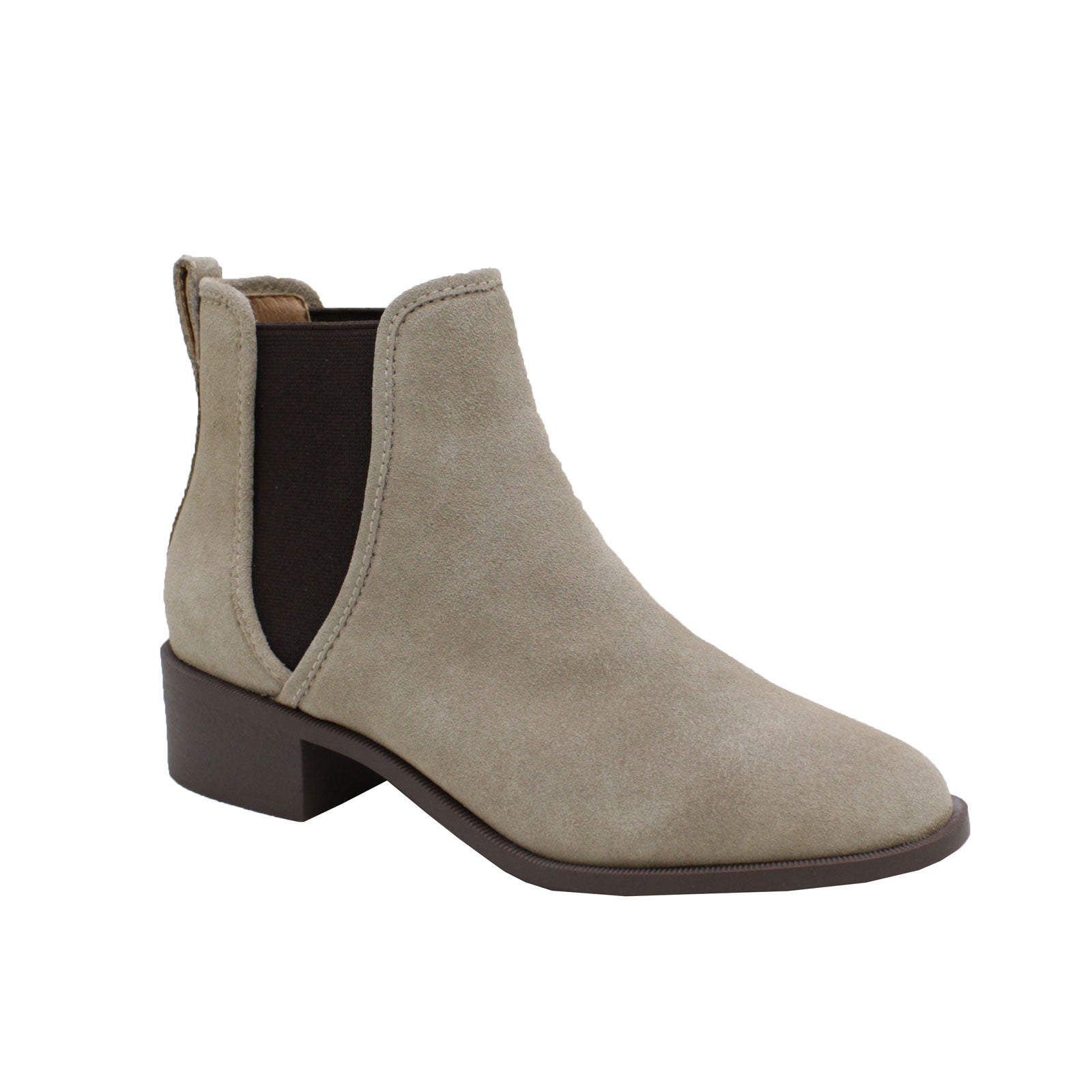 Steve Madden Dares Chelsea- Taupe Suede