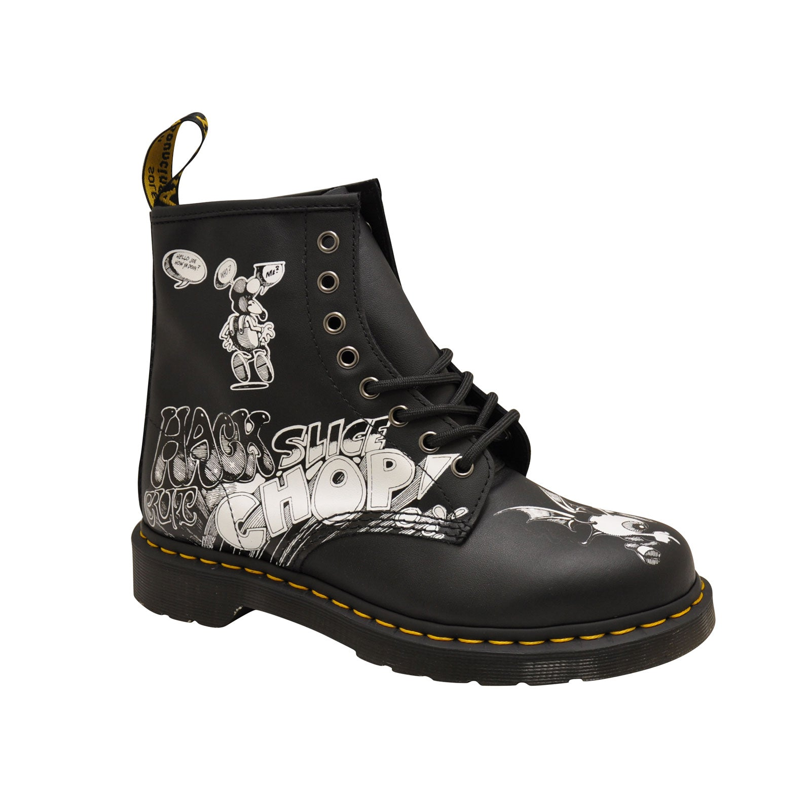 Dr. Martens 1460 Rick Griffin-Black/White