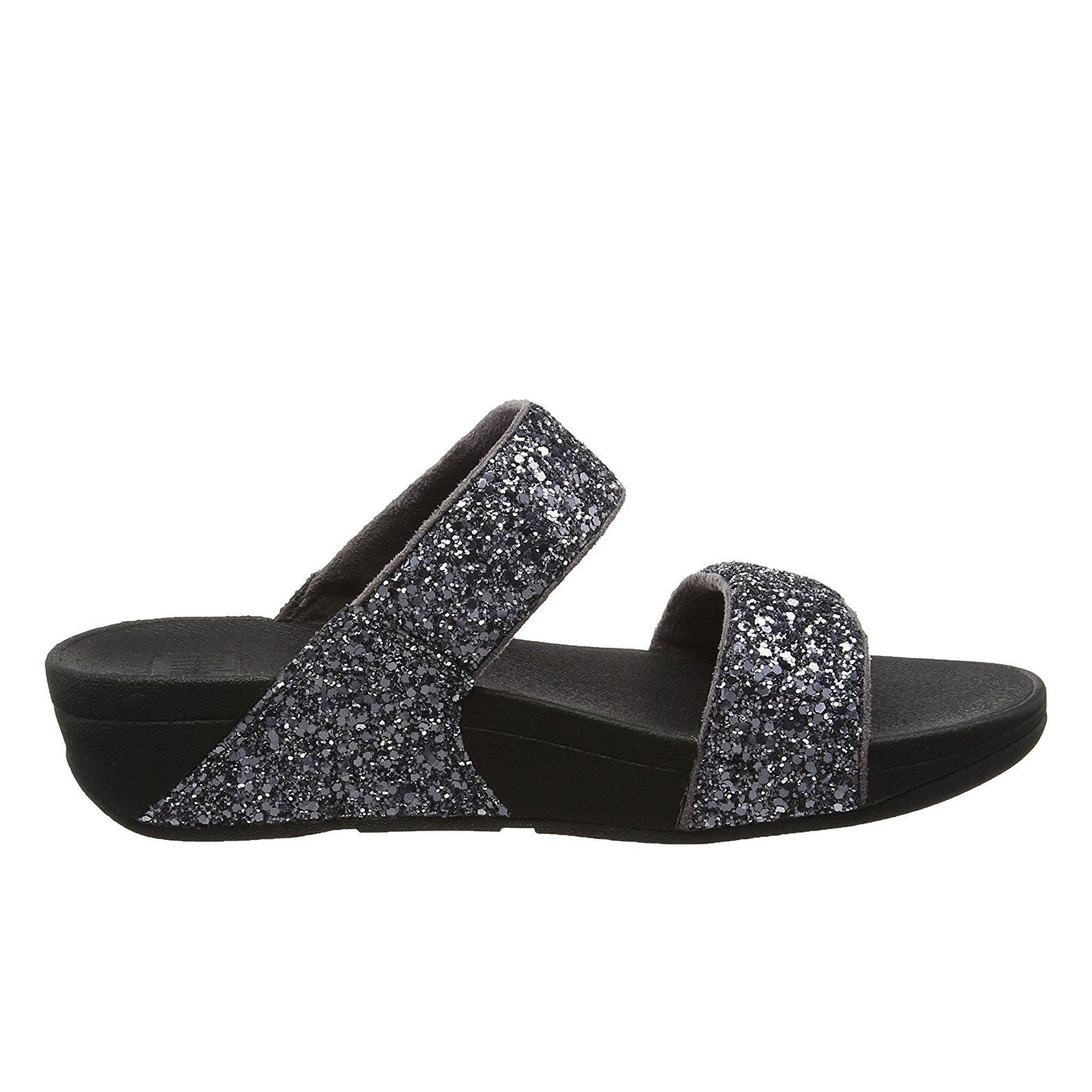 Fitflop Glitterball Slide -Pewter