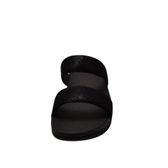 Fitflop Shimmy Suede Slide H68-403 (Black)