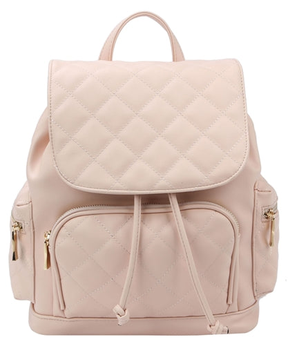 Tuya Leather Bag-Blush