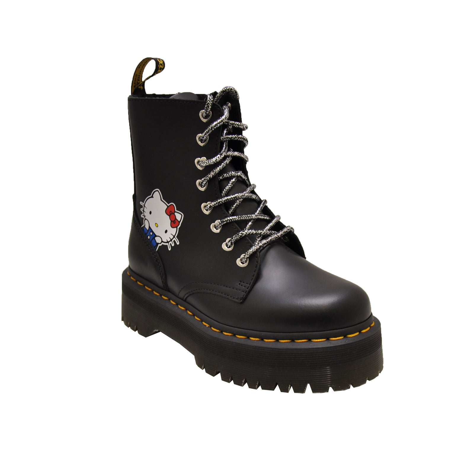 Dr. Martens Jadon Hk 25913001 (Black Polished Smooth)