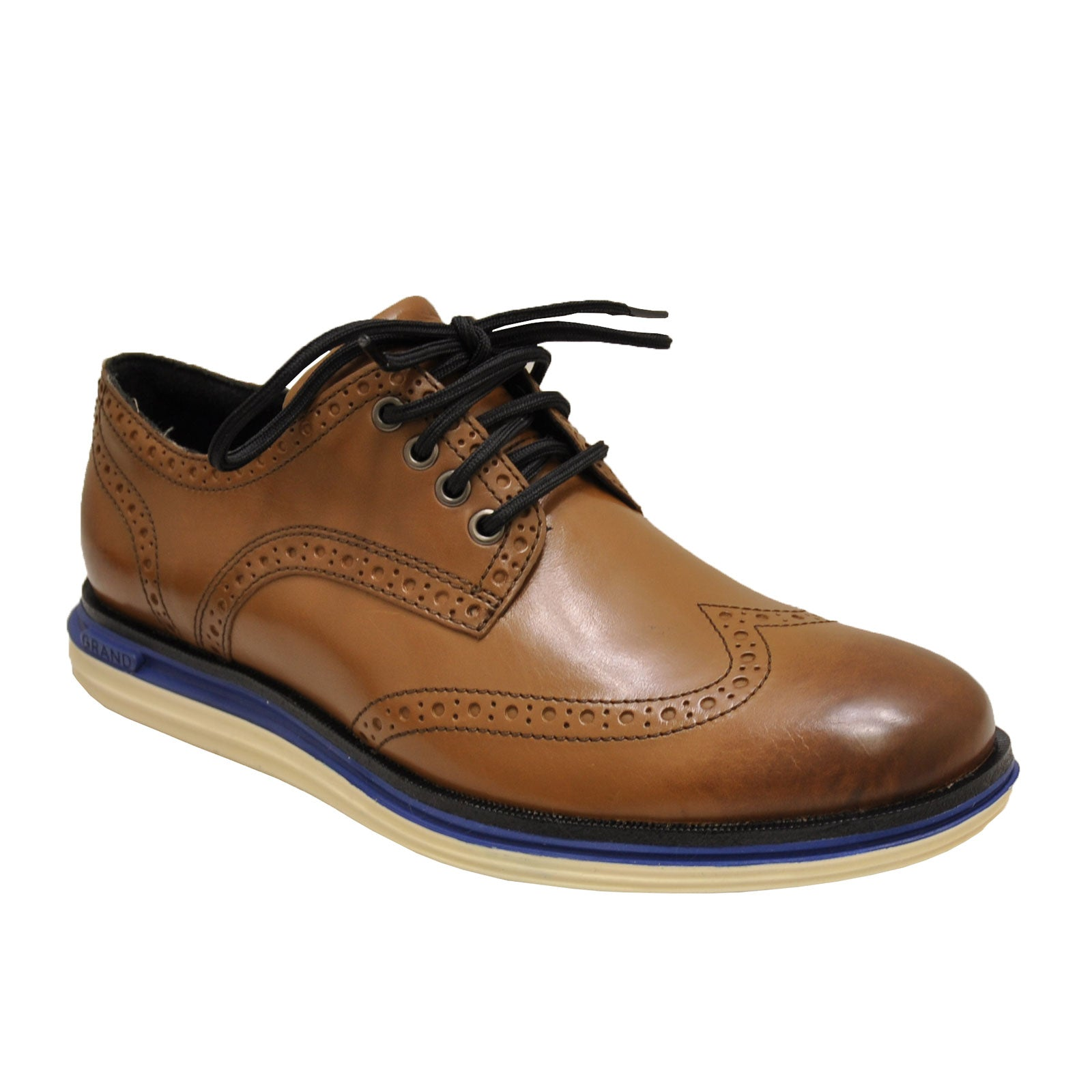 Cole Haan Original Grand Lux Wingtip C31549 (Leather/Ivory)