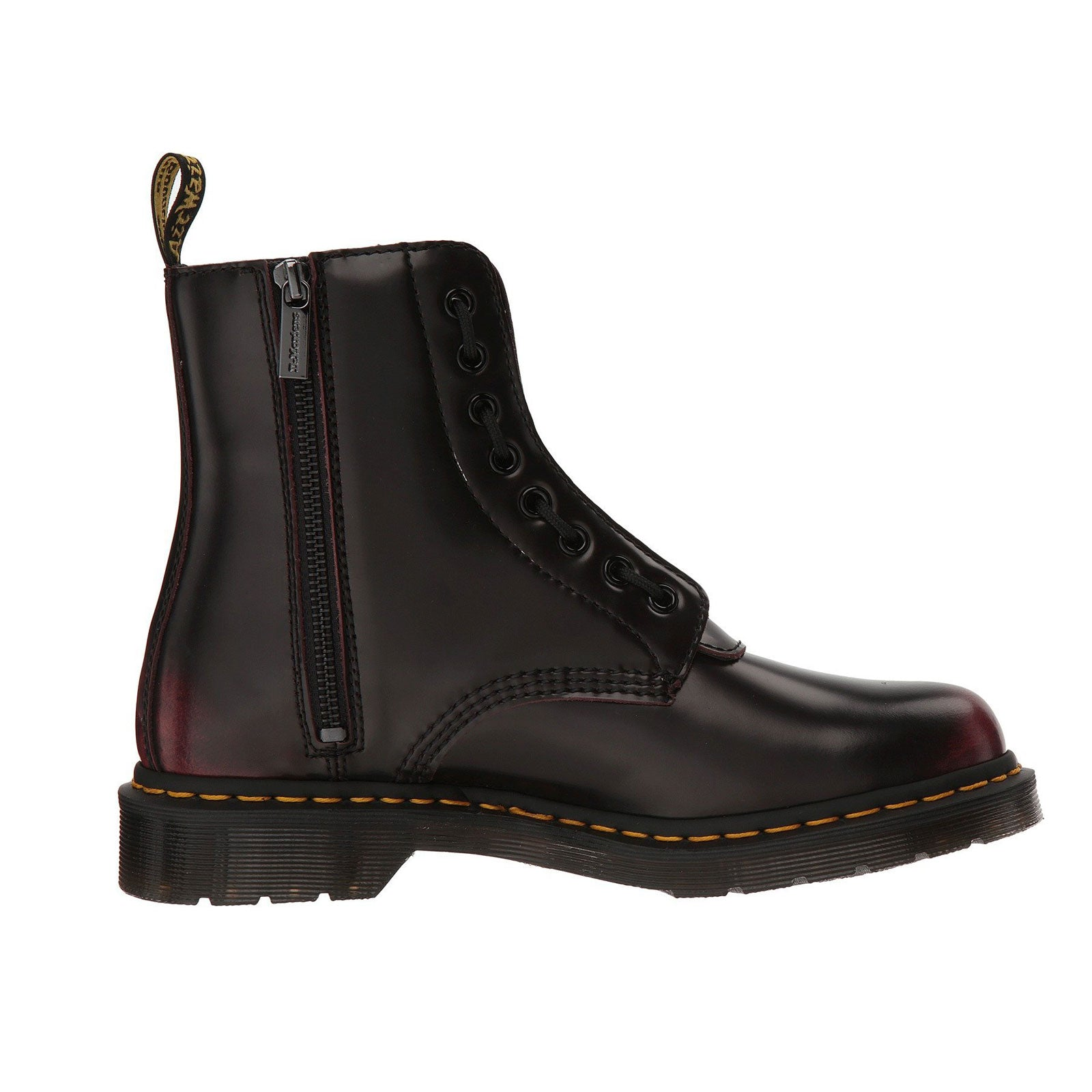 Dr. Marten 1460 Pascal Front Zip- Cherry Red