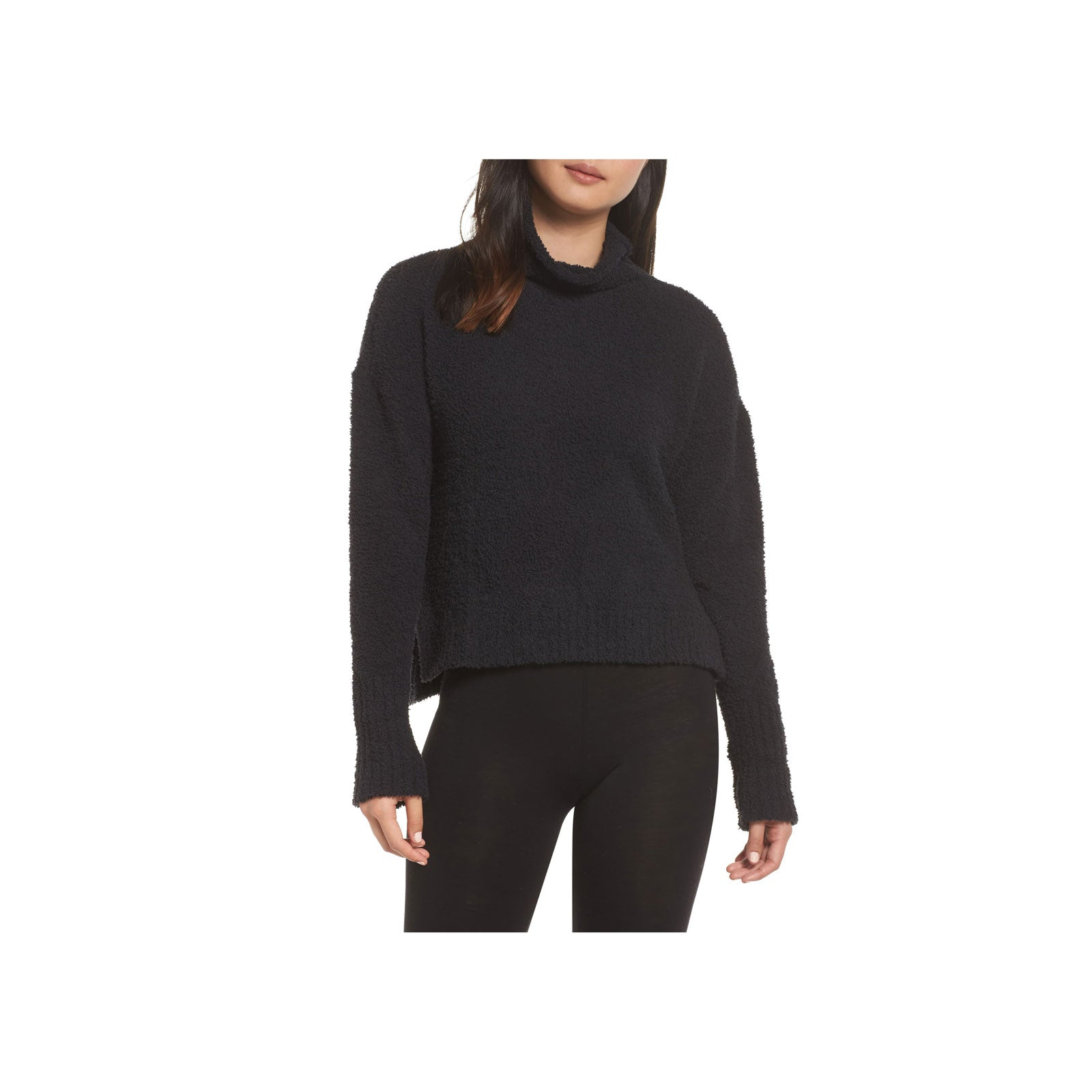 UGG Turtleneck Sweater Sage-Black