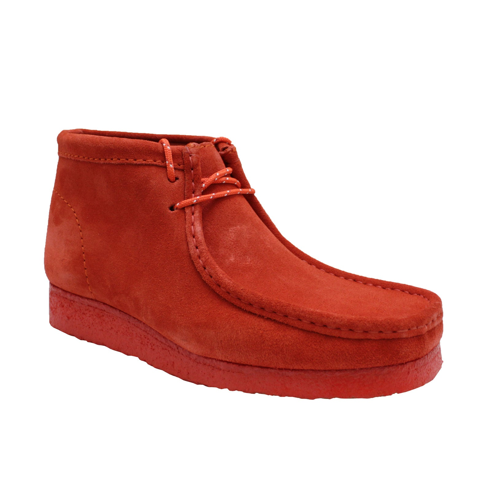 Clarks Wallabee Boot 54745 (Red Suede)