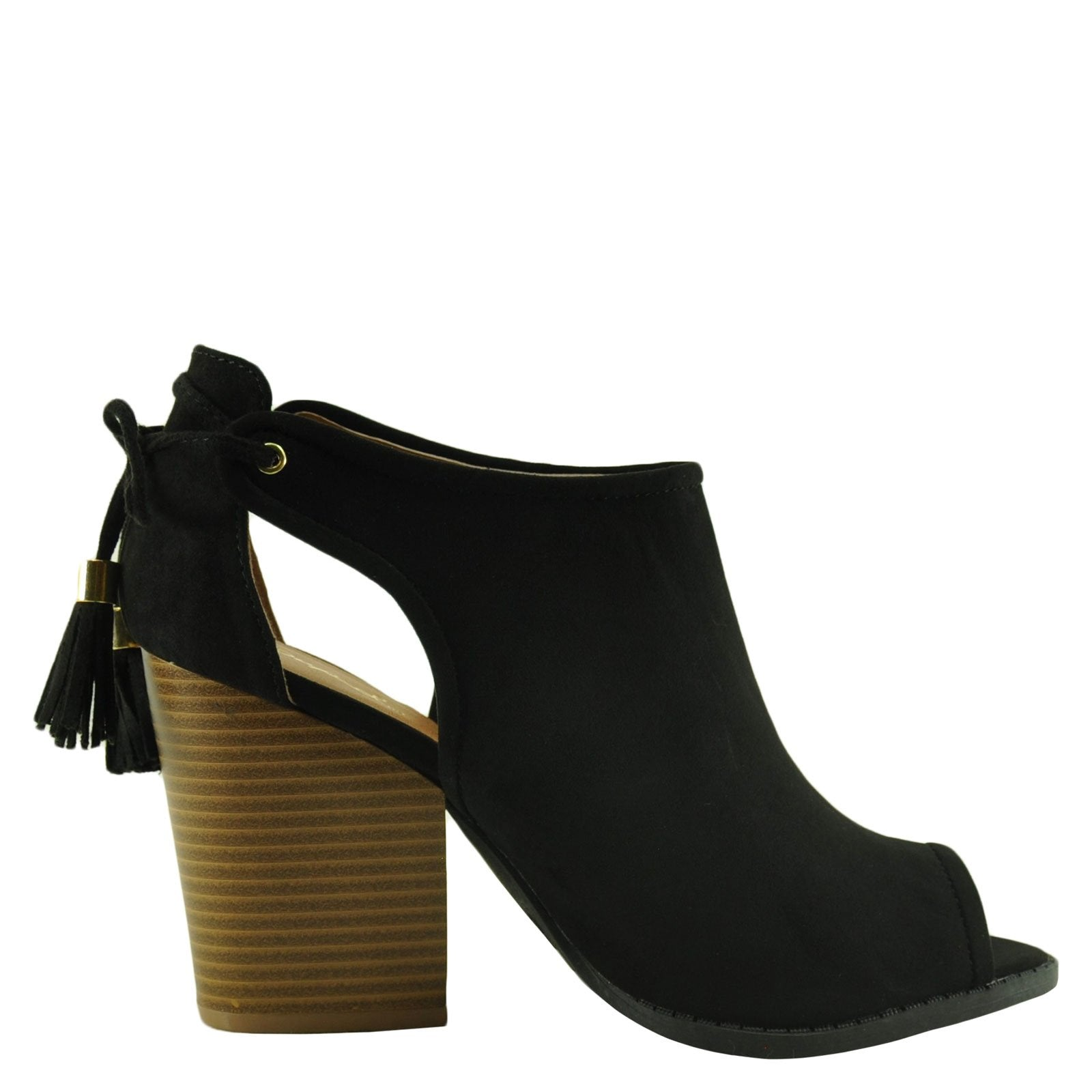 Qupid Barnes 105A- Black