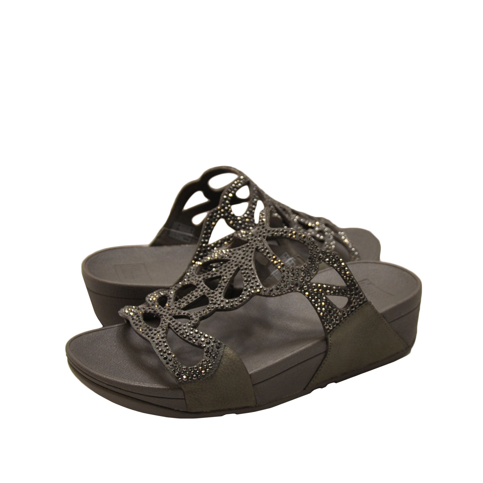 5d64ba60acf1 Fitflop Bumble Crystal Slide – Milano Shoes