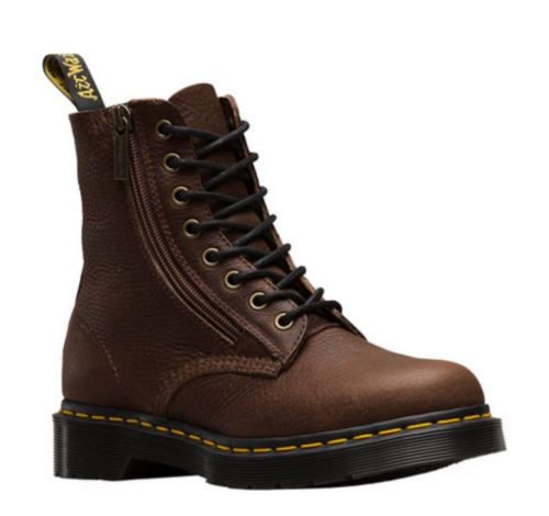 Dr. Martens Pascal W/ Zip Dark Brown