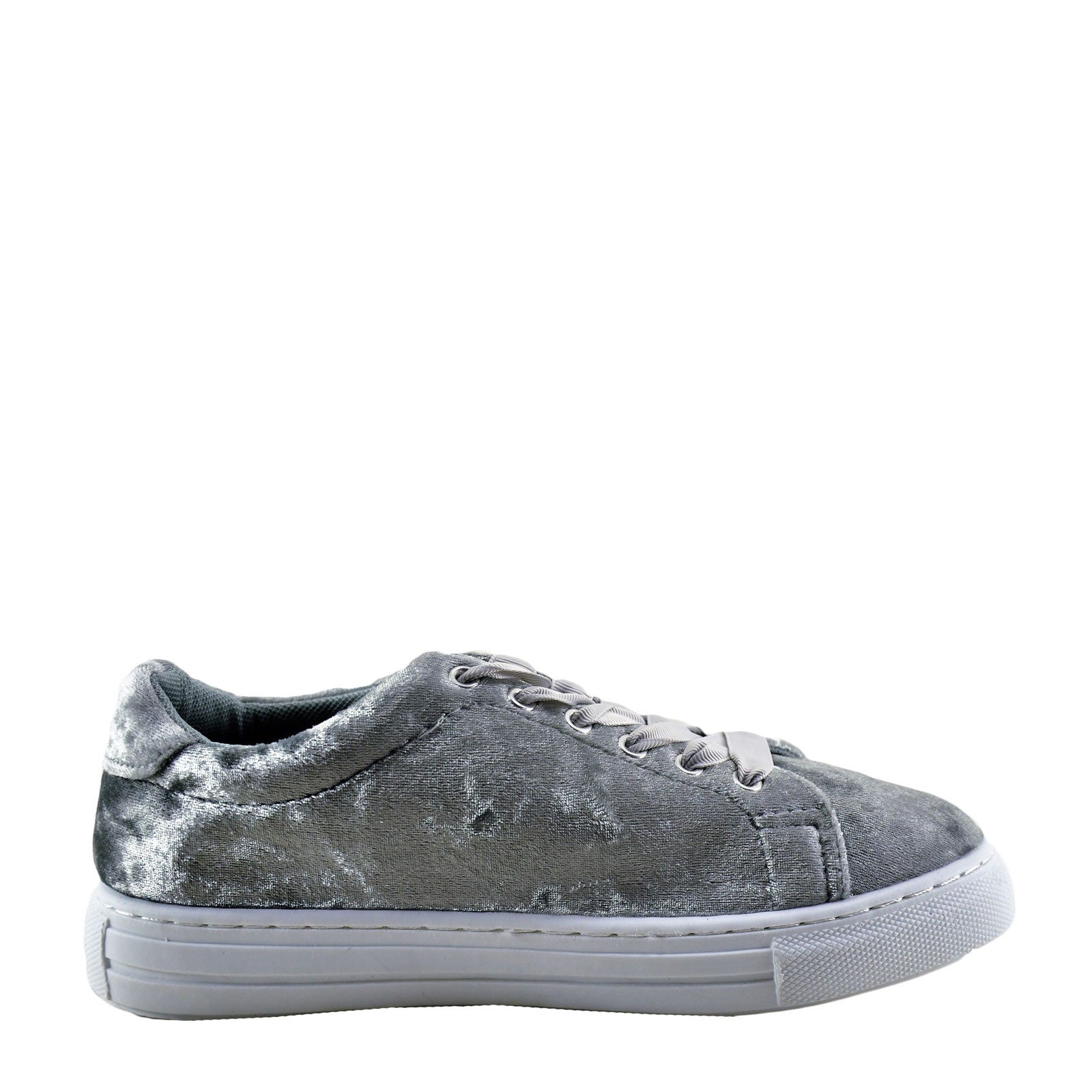 Qupid Reba 161C -Grey Crush Velvet