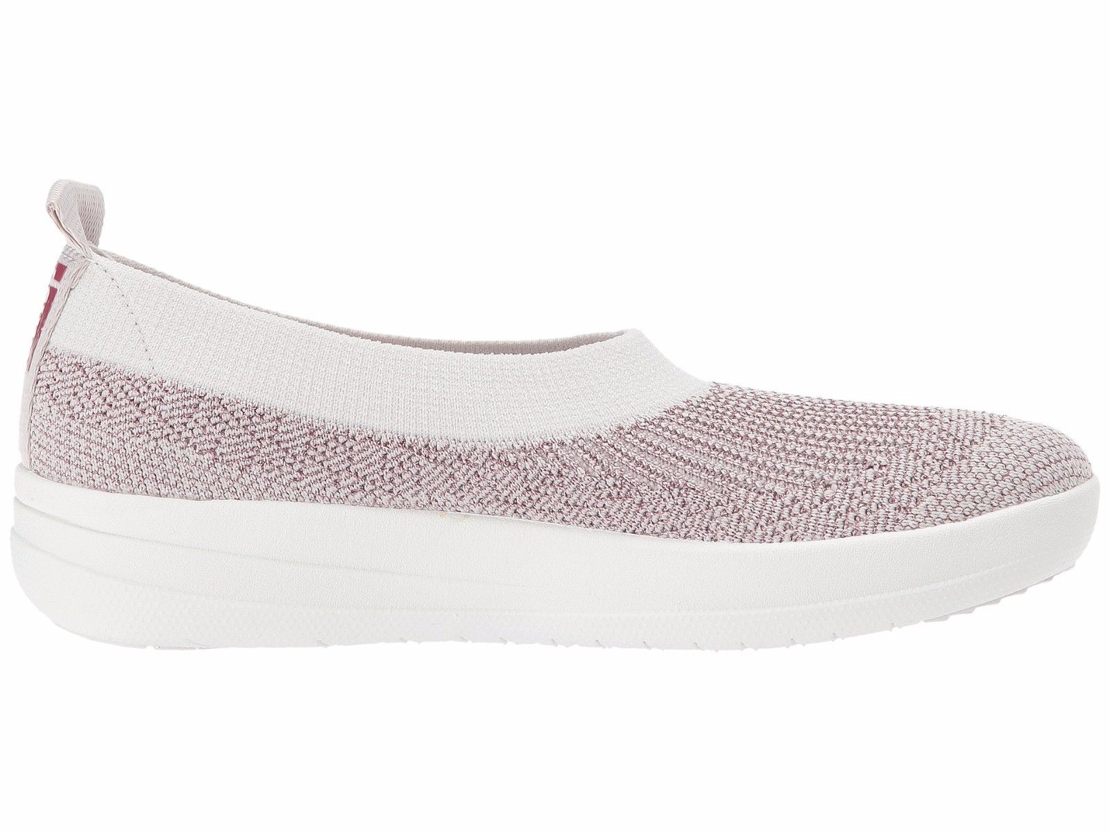 Fitflop Uberknit Slip-on Ballerina J81-507 (Stone / Rose Gold)