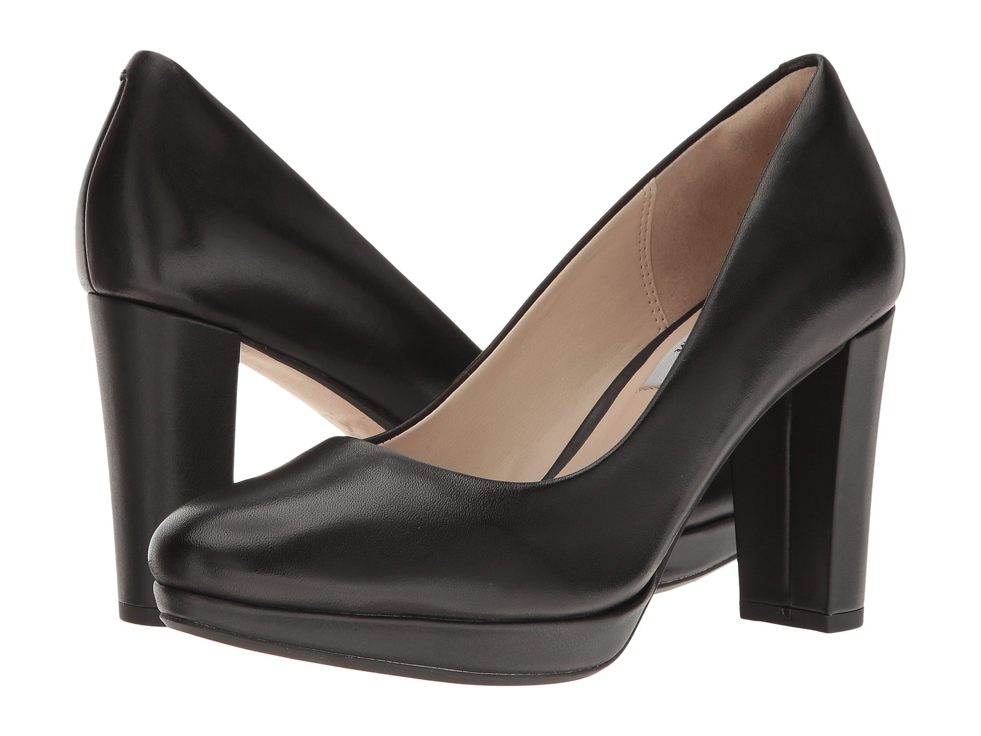 Clarks Kendra Sienna Black Leather