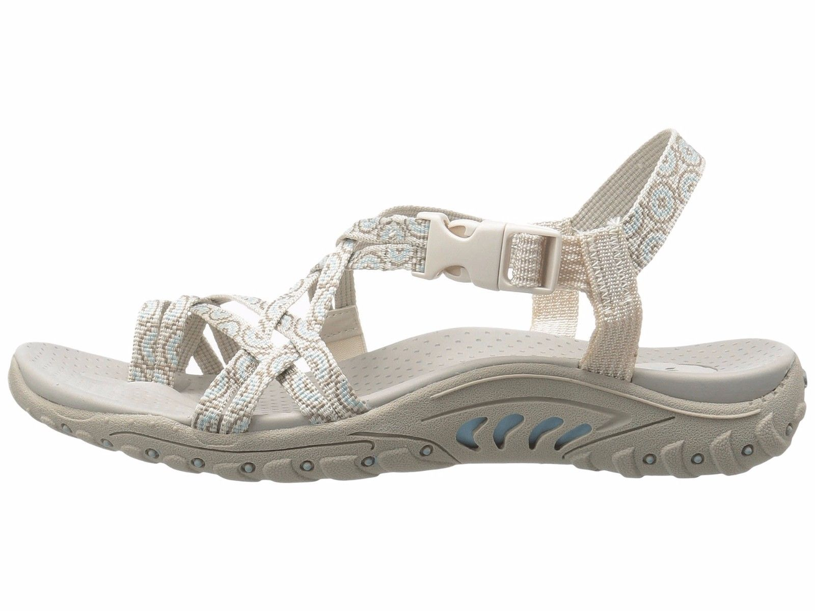 SKECHERS Reggae Happy Rainbow Natural Donna Paige