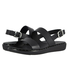 Women's Shoes Fitflop BARRA Leather Comfort Slingback Sandals