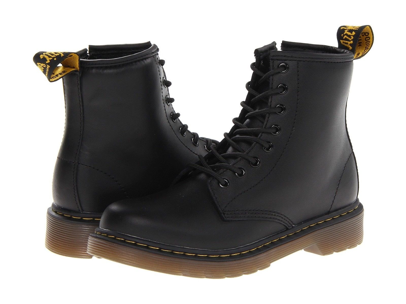 Dr. Martens Delaney (Kid's Shoes) Black