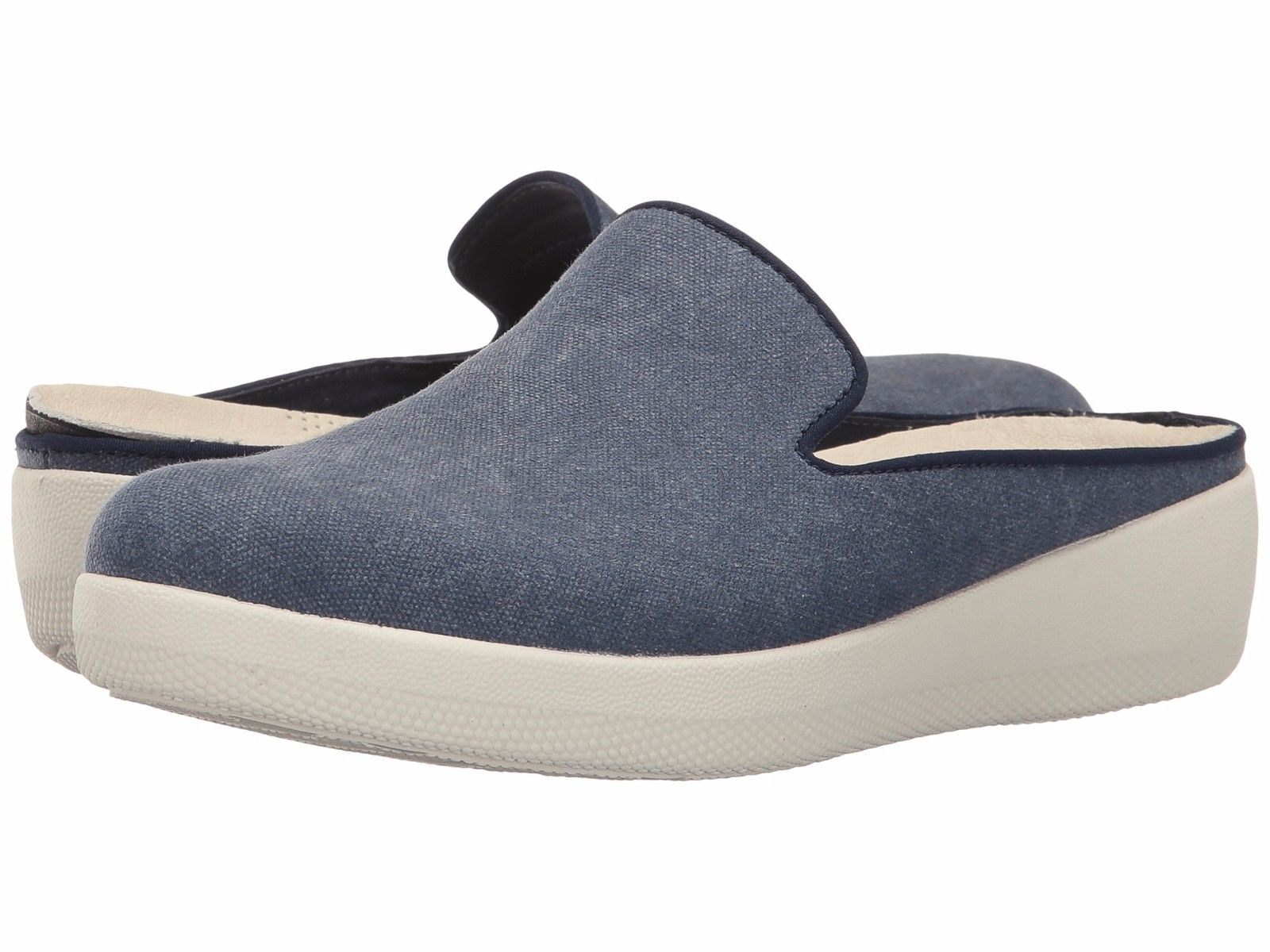 Fitflop Superskate Slip Ons-Midnight Navy