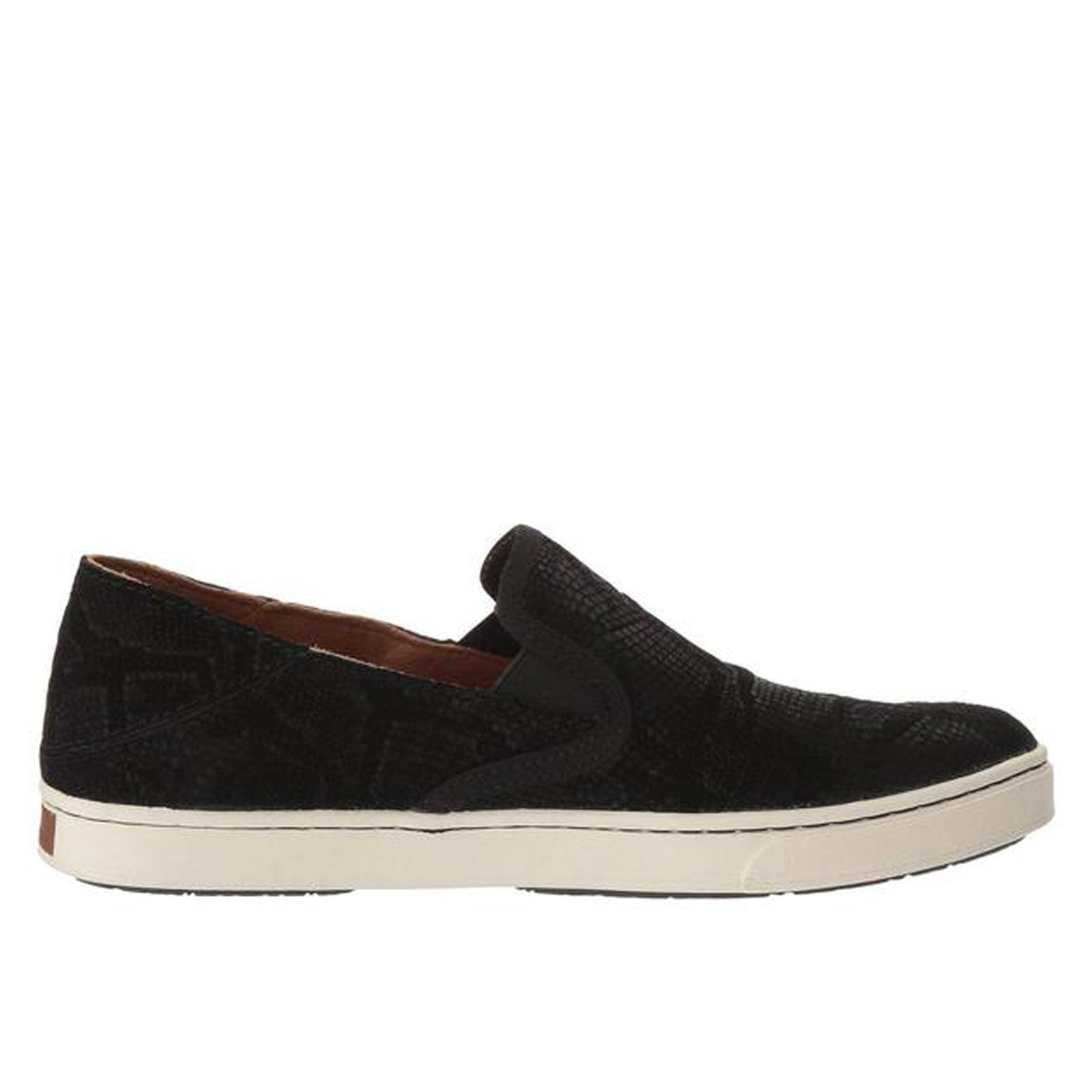 OluKai Pehuea Leather- Black