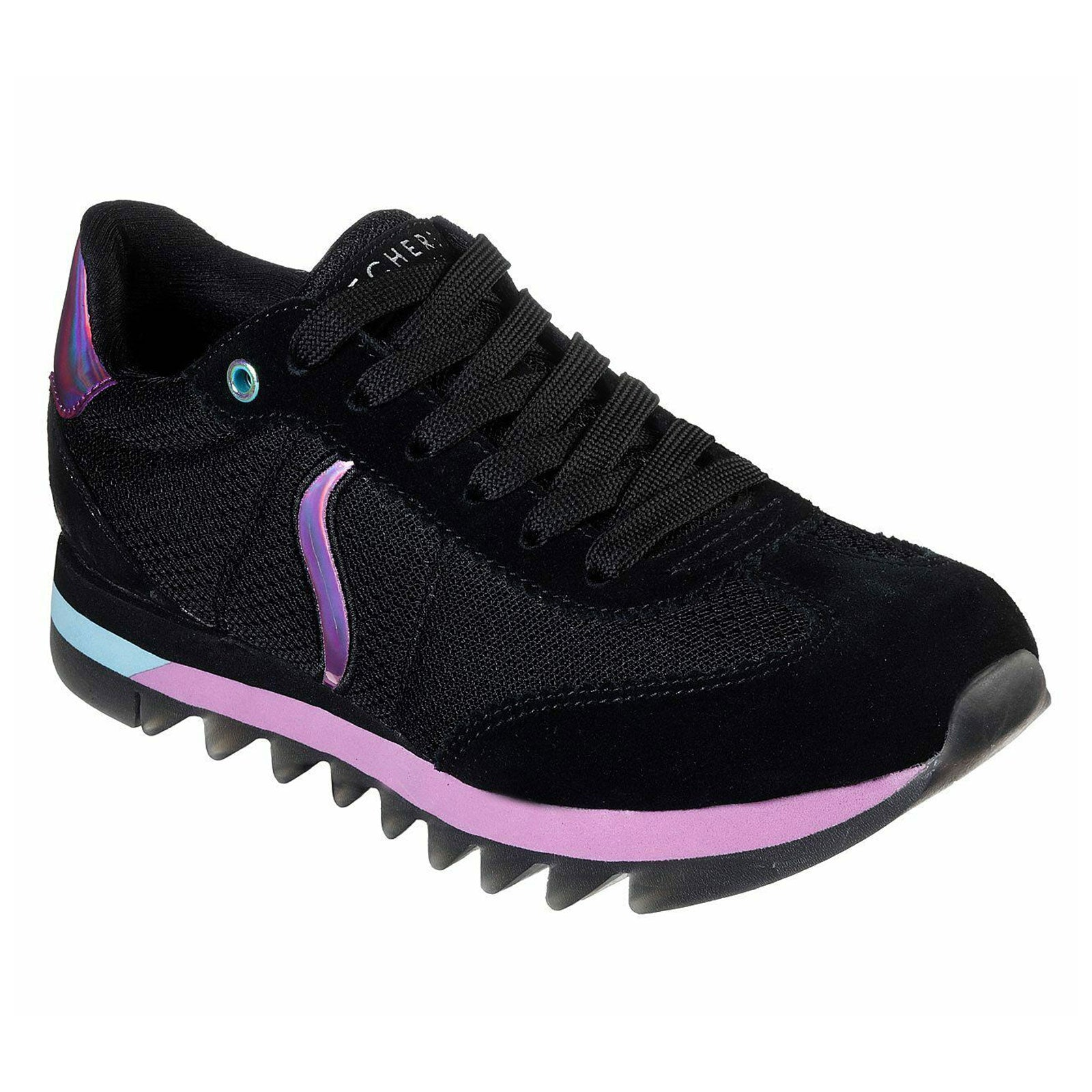 Skechers Street Venus Shredded-Black