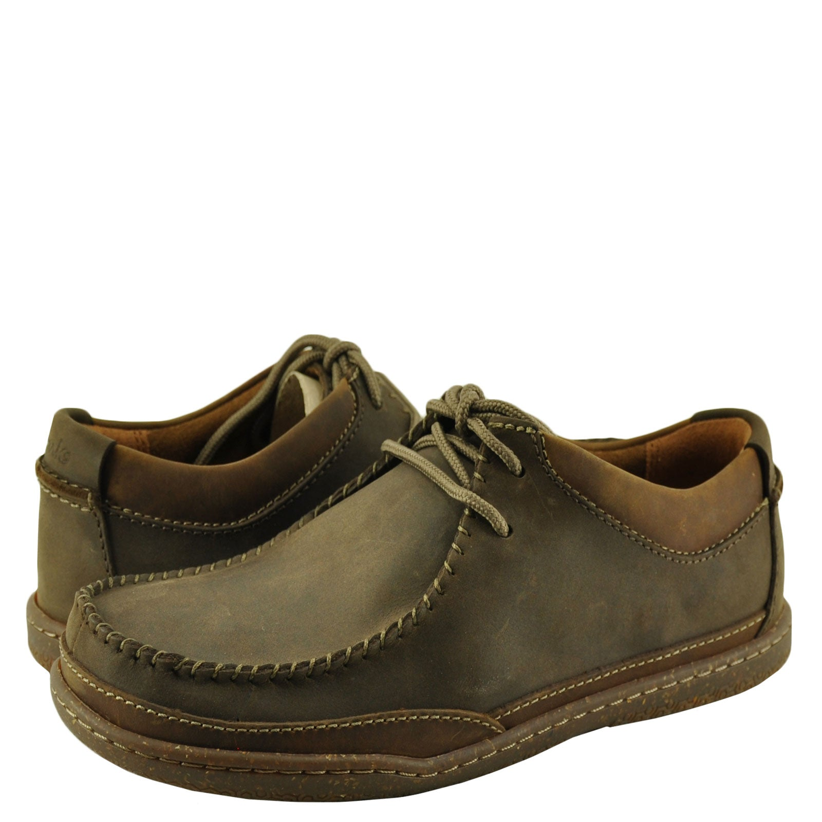 Clarks Trapell Pace Dark Brown