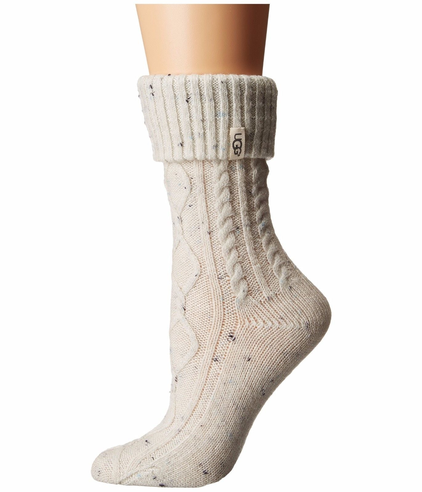 UGG® Sienna Short Rain Boot Sock - Cream