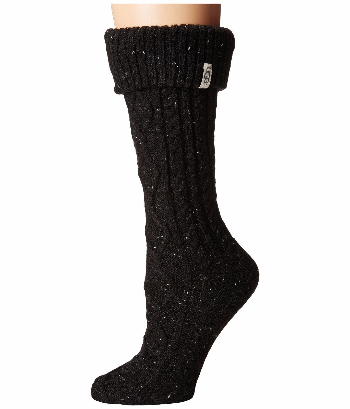 UGG® Shaye Tall Rain Boot Sock - Black
