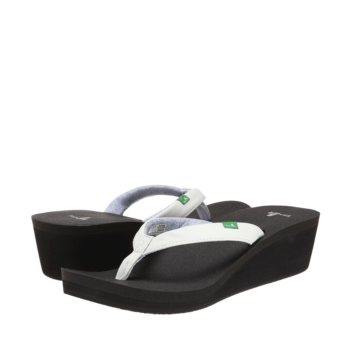 Sanuk Yoga Zen Wedge-White