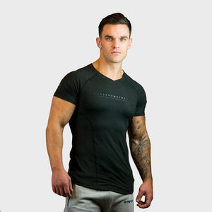 Kwench Mens Gym Workout body Fit Tshirt Main-image