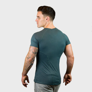 Vibe Body Fit T-Shirt | Green Thumbnails-2