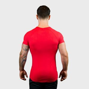 Vibe Body Fit T-Shirt | Red Thumbnails-3