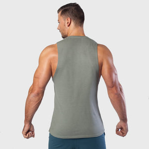 Kwench Mens Gym Vest Tank Stringer Thumbnails-3