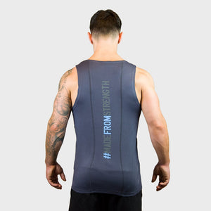 Kwench Mens Gym Vest Tank Stringer Hunk Thumbnails-3