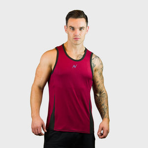 Kwench Mens Gym Vest Tank Stringer Gladiator Main-image