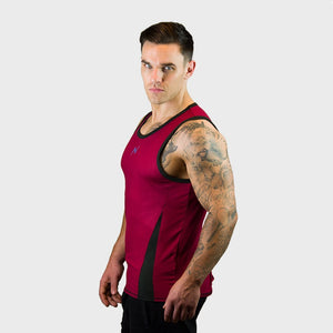 Kwench Mens Gym Vest Tank Stringer Gladiator Thumbnails-2